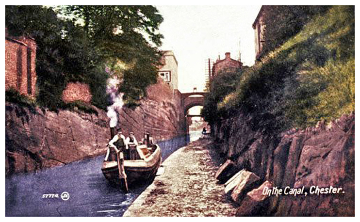chester canal 1910