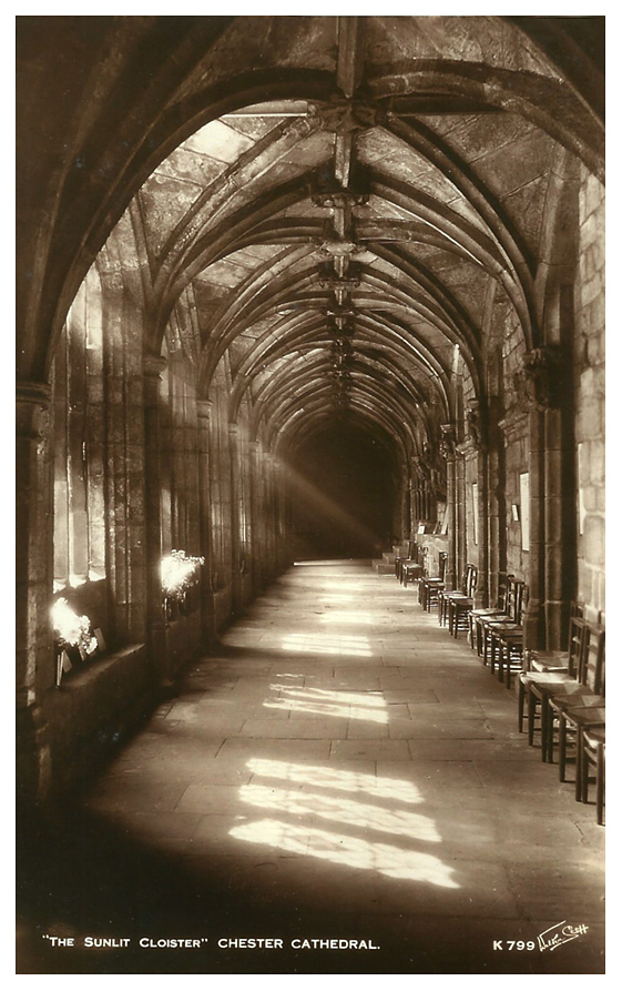 cloisters at cathedral