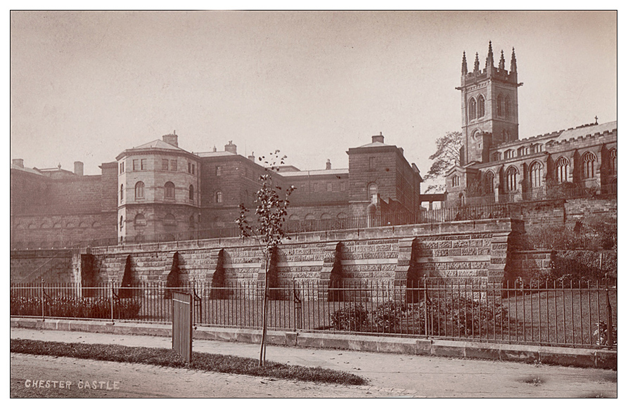 st mary on the hill and chester gaol