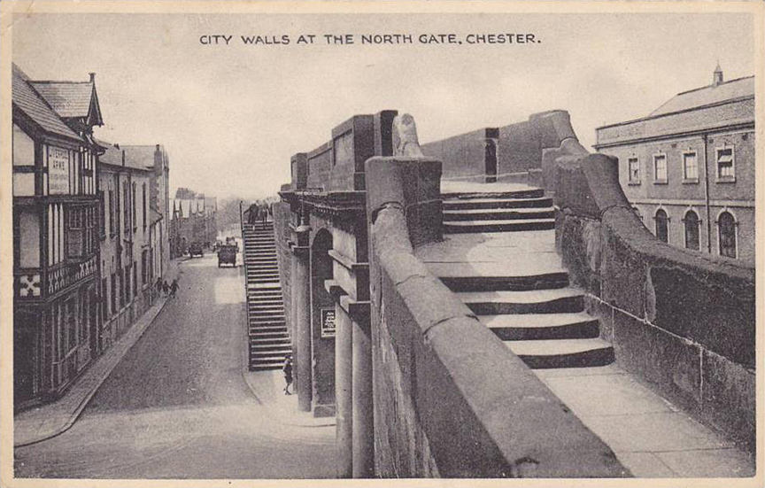 northgate and city walls