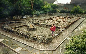 Roman baths at Prestatyn