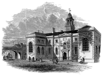 old engraving of Bluecoat