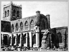 old cathedral photograph