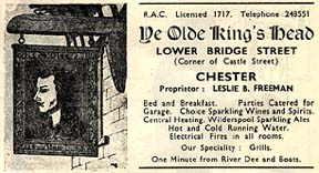 kings head advert 1955