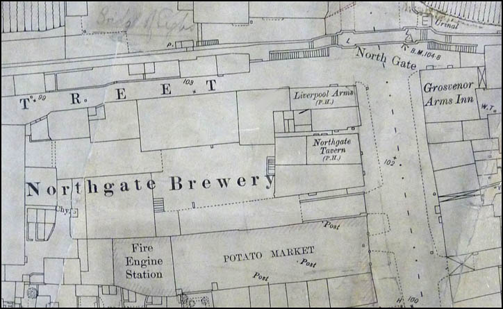 northgate brewery map