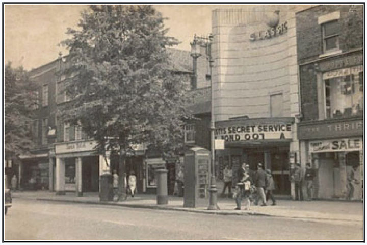 classic cinema and swan inn 1970