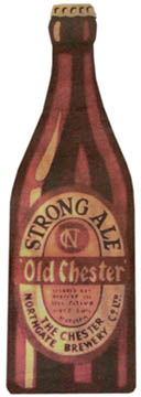 old chester ale bottle