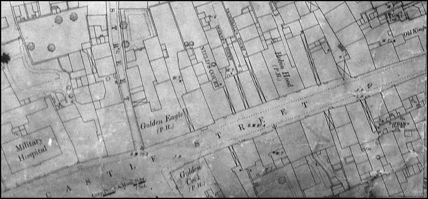 old map of castle street