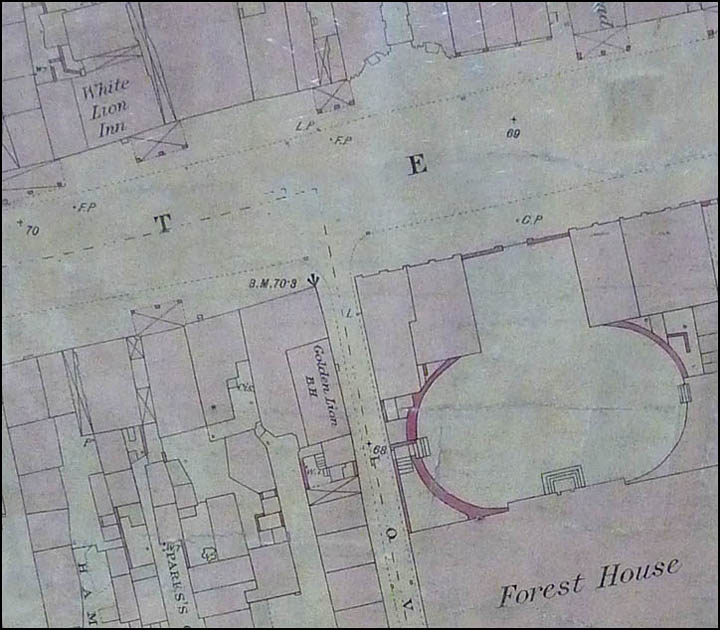 old map of Forest House area