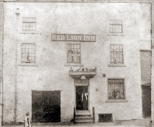 olderst picture of the red lion