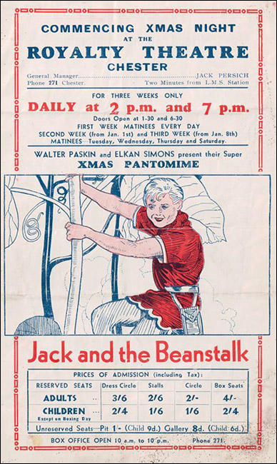 jack in the beanstalk