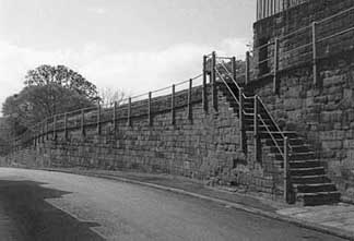 wall before ring road