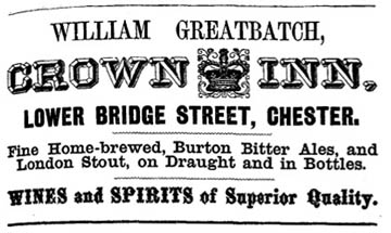 crown inn advert