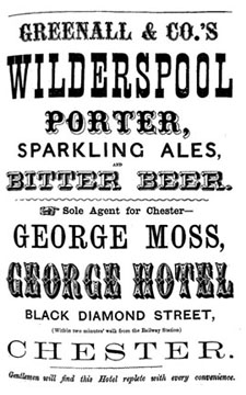 george hotel advert