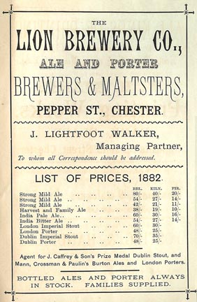 lion brewery advert