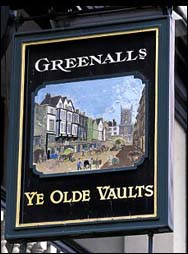 old vaults sign