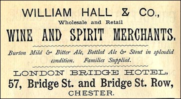 william hall advert