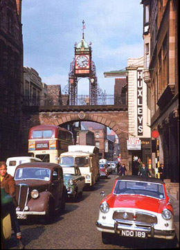 traffic in eastgate street 1961