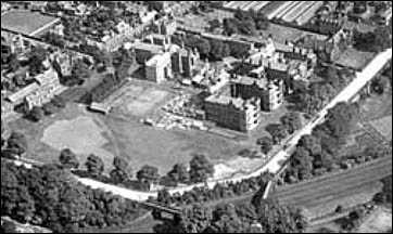 infirmary from the air