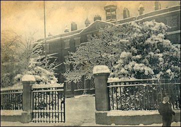 infirmary in snow