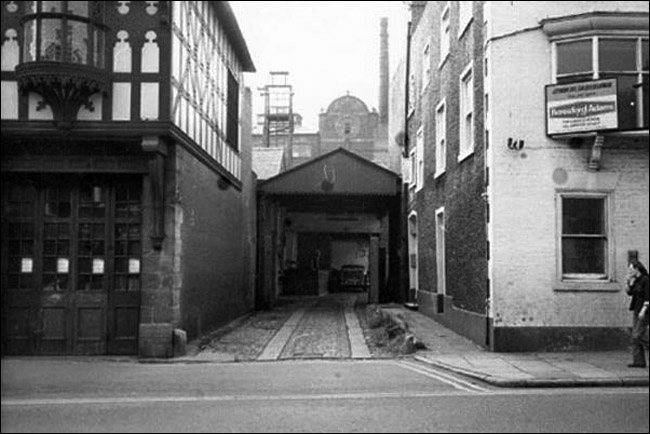 brewery entrance 1972