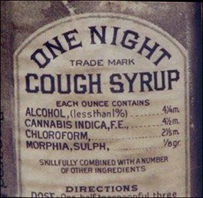 victorian cough syrup