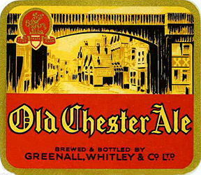 old chester ale label