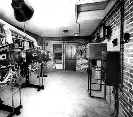 tatler's projection room