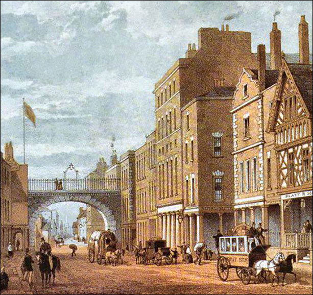 royal hotel and =eastgate c1860