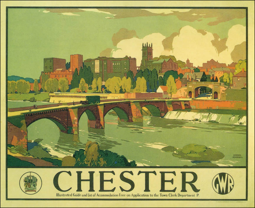 1938 gwr poster