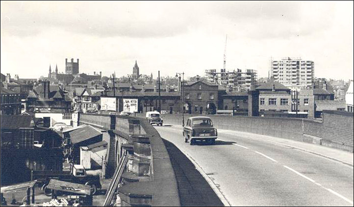 crossing hoole bridge 1960s