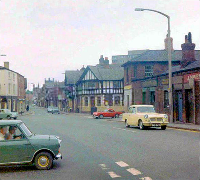 hoole road and bfrook street junction