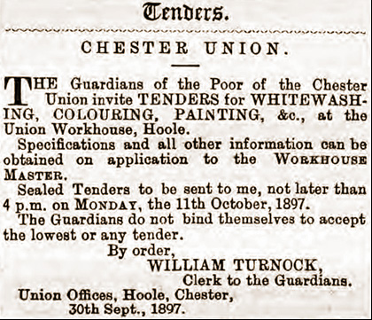 workhouse tender